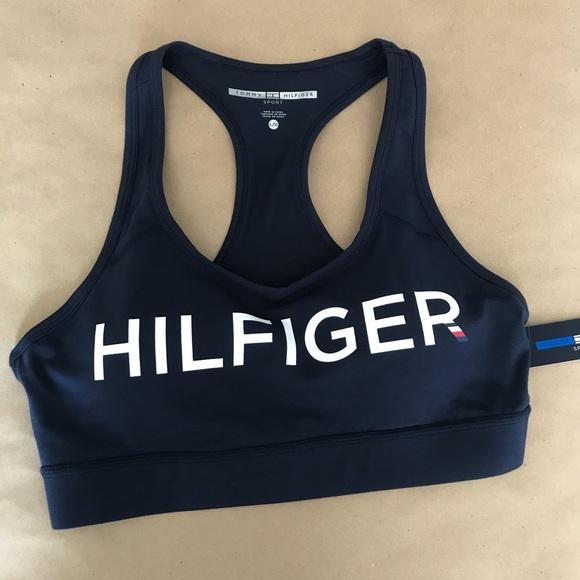1f62ad38b8a50 NWT Tommy Hilfiger Sports Bra